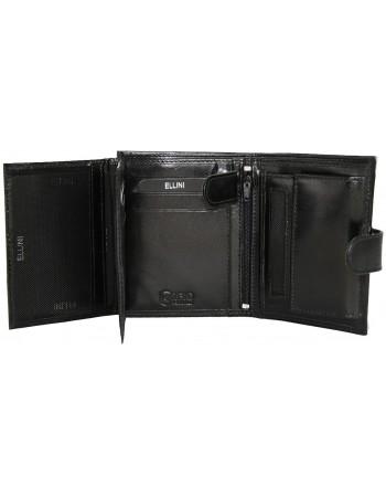 Výborná pánska peňaženka Ellini - čierna