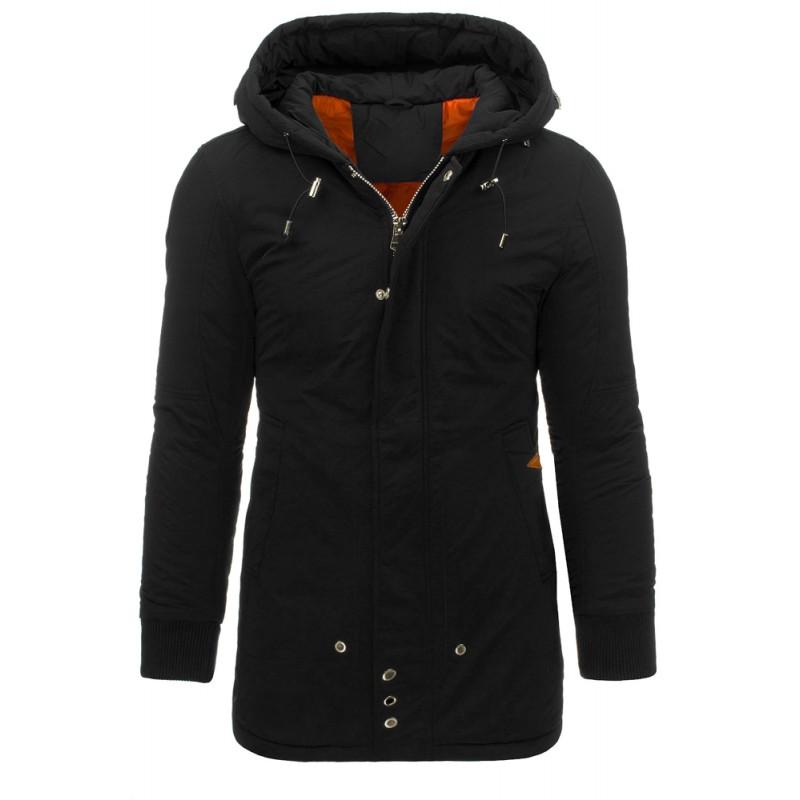 "Pánska zimná bunda (tx1371) - čierna ""XL"""