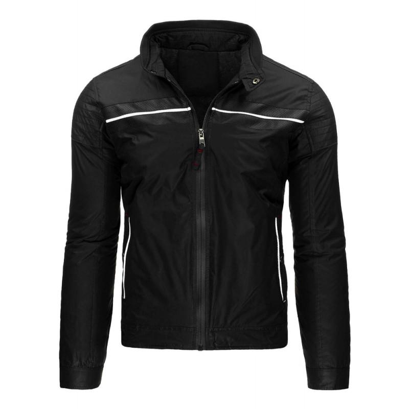 """Prechodná bunda (tx1322) - čierna """"L"""""""
