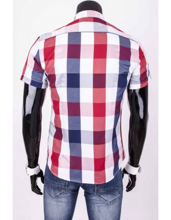 Pánska károvaná košeľa (kq0001)