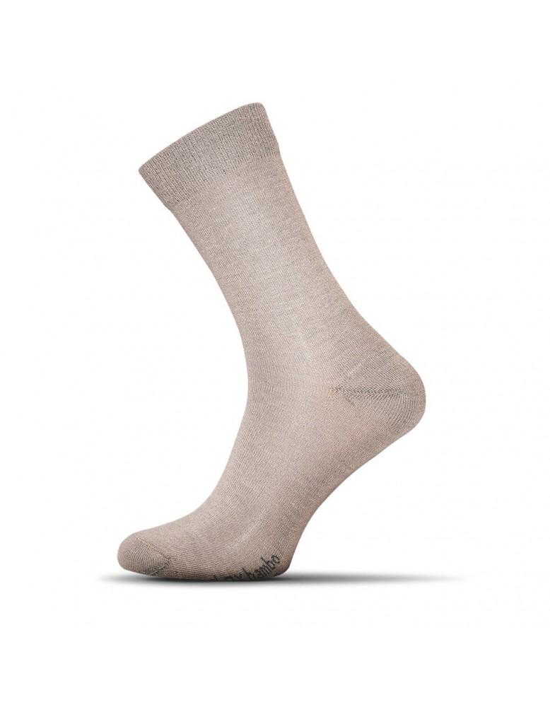 Pánske ponožky Excellent Bamboo - béžové