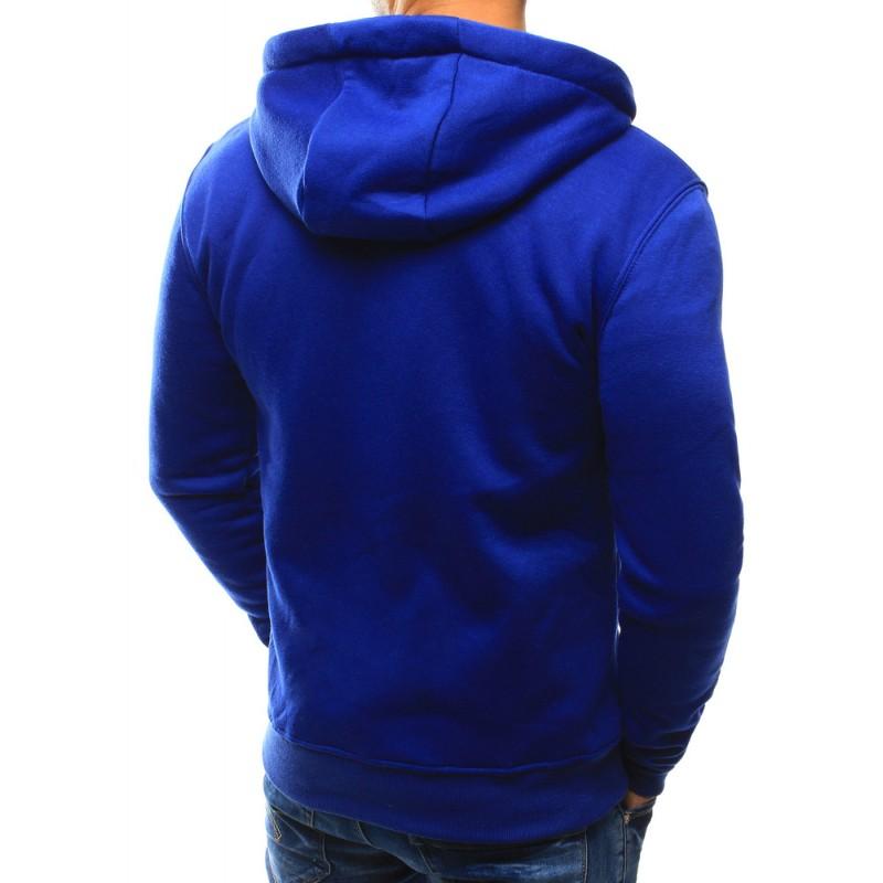 Pánska modrá mikina na zips (bx3028) 6548b948a88