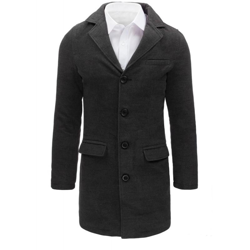 """Pánsky antracitový kabát (cx0365) """"M"""""""
