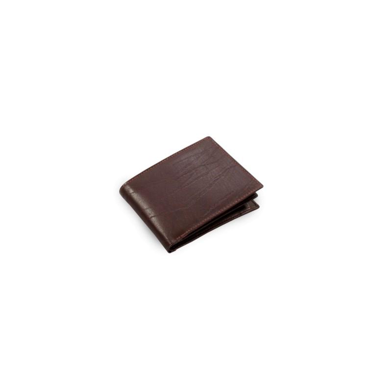 Tmavohnedá pánska peňaženka z kože (513-1207-40)