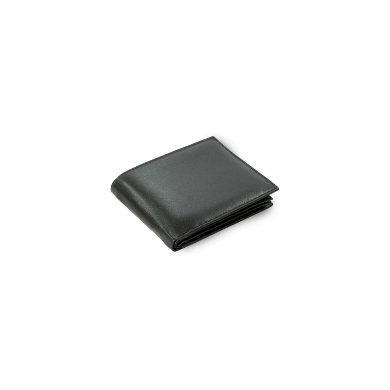 Klasická pánska peňaženka z čiernej kože (513-47100)
