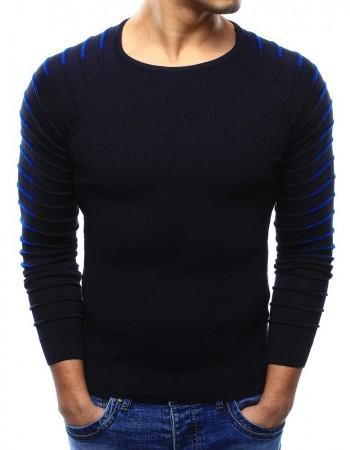 "Pánsky tmavomodrý sveter (wx0976) ""M"""