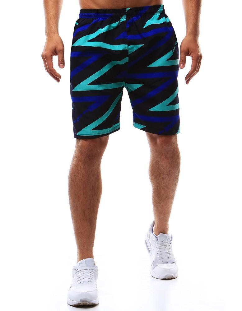 """Pásnke šortky na kúpenie (sx0361) - čierne """"XL"""""""