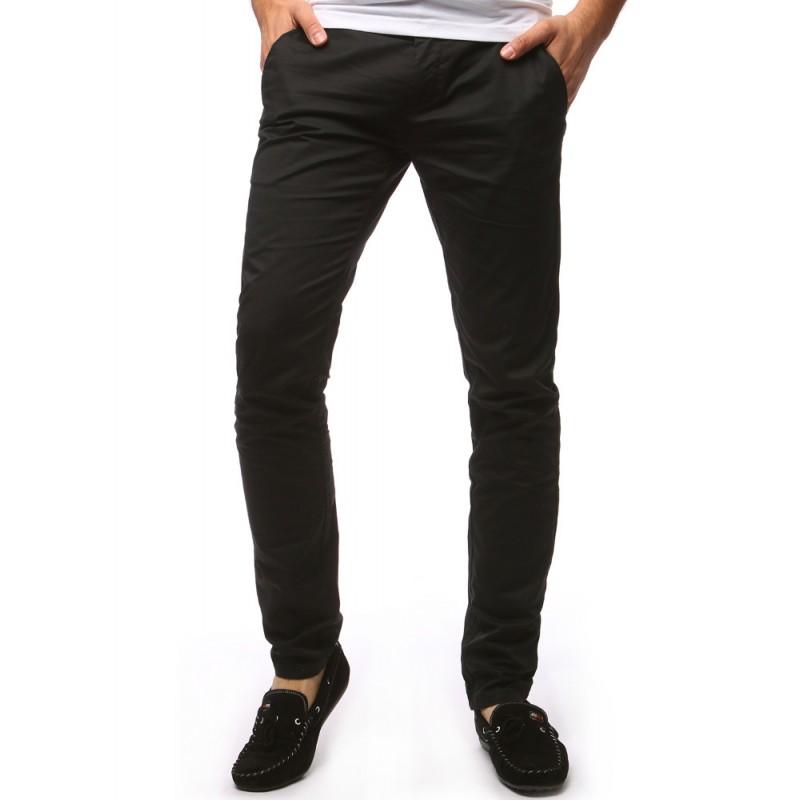 """Pánske čierne nohavice chinos """"31"""""""