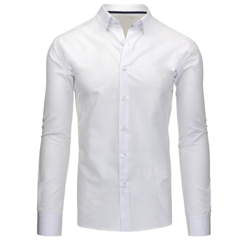 """Pánska košeľa (dx1055) - biela """"M"""""""
