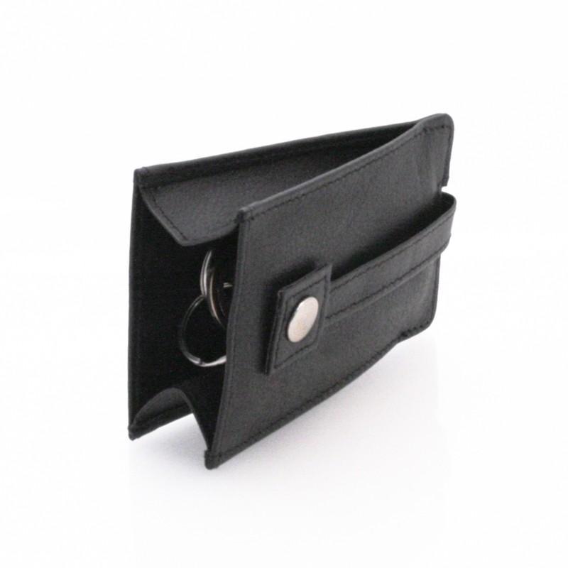 Kožené puzdro na kľúče Bellugio AIR-ETUI-06 - čierne 2e55a9e563b