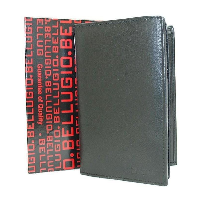 Pánska kožená peňaženka AM-01-143 - čierna 70e554c2dbf