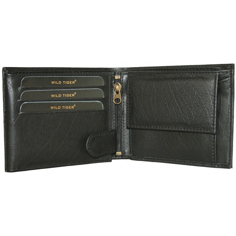 Štýlová kožená peňaženka AMW-01-048 - čierna dcdbf2d868a