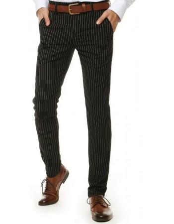 Čierne pánske nohavice UX2569