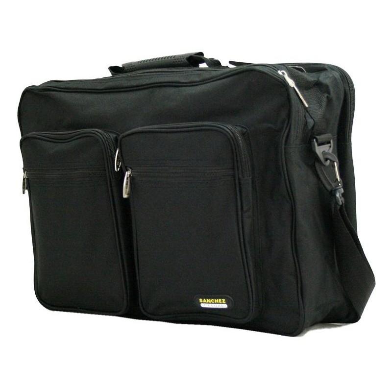 Pánska taška NYLON-7505 - čierna
