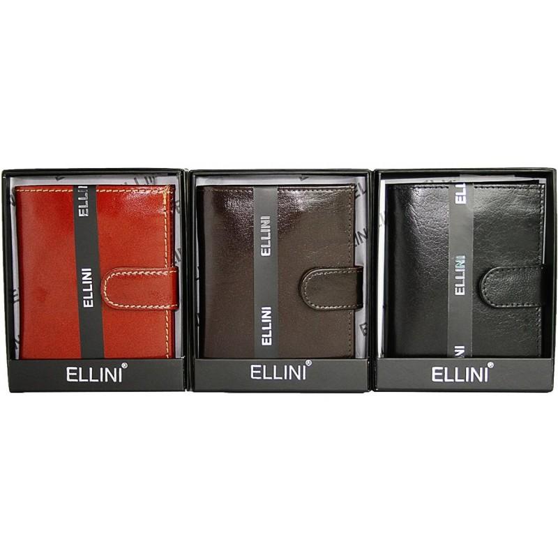 Pánska peňaženka Ellini - hnedá bd8efb5812a
