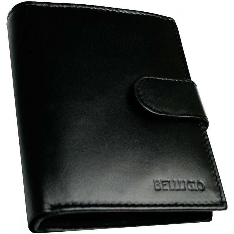 Čierna kožená peňaženka Bellugio b59996d4a63