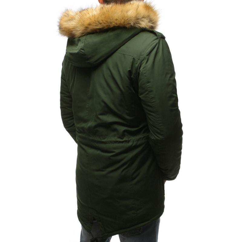 Pánska bunda na zimu (tx2335) - zelená d531bdd8c02