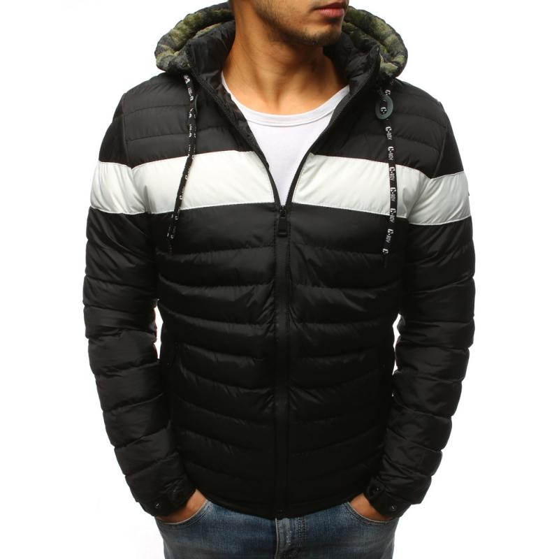 Pánska zimná bunda (tx2393) - čierna ddf9c45d7ac