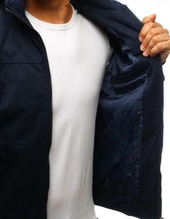 """Pánska prechodná bunda tmavo modrej farby s kapucňou (tx2260) """"M"""""""
