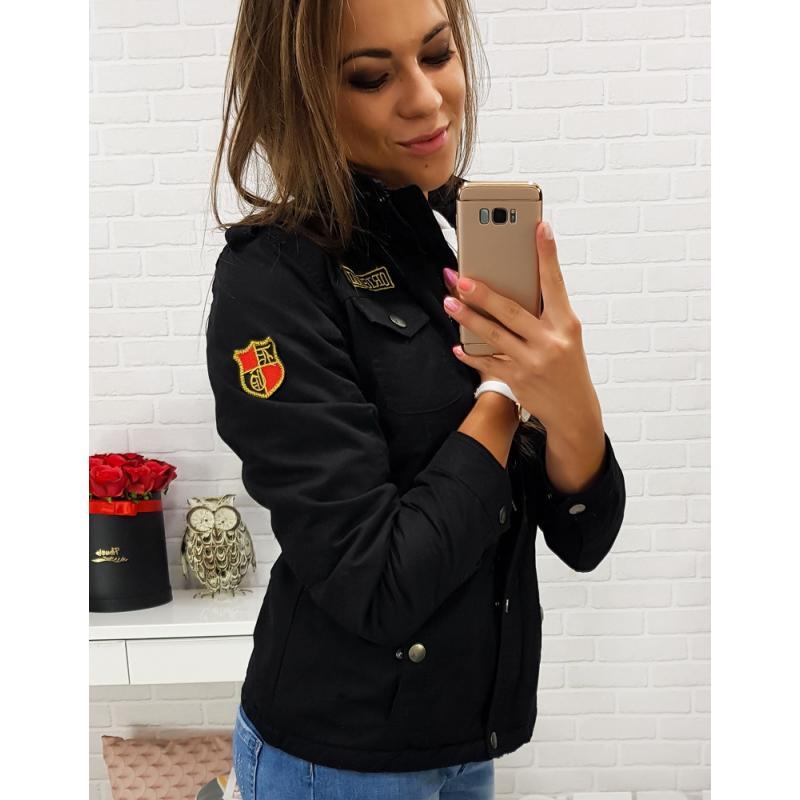 """Dámska prechodná bunda ORIGINAL SHORT s kapucňou (ty0251) - čierna """"XXL"""""""