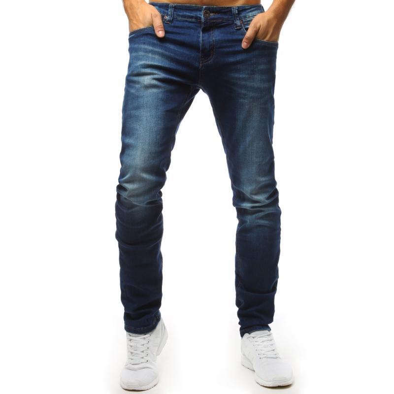 13b849f0718b Pánske rifľové nohavice (ux1544) - modré