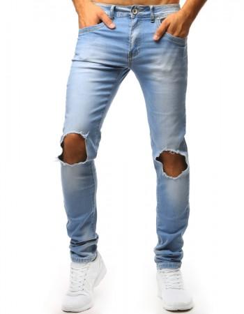 """Pánske jeansy svetlo modré (ux1351) """"32"""""""