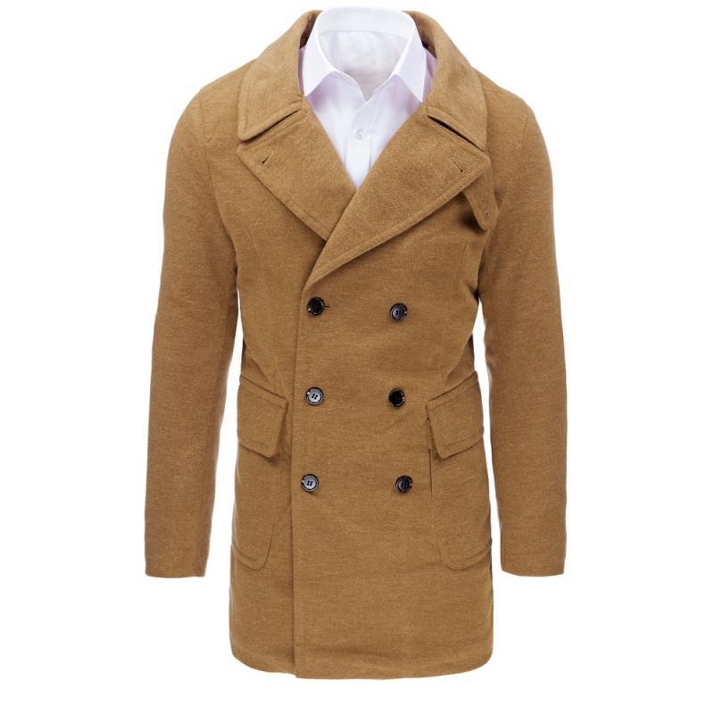 Pánsky kabát (cx0362) - karamelový f2facd2b3cf