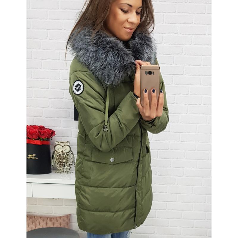 Dámska zimná bunda LAPLAYA s kapucňou (ty0356) - zelená 80108bec4eb