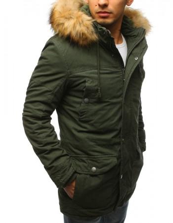Pánska zimná bunda (tx2444) - zelená, veľ. XXL