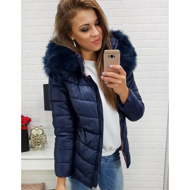 Dámska zimná bunda (ty0300) - tmavo modrá 1f96f952779