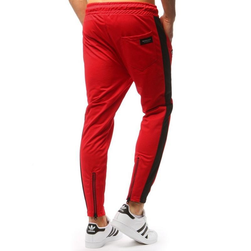Športové pánske tepláky (ux1730) - červené 1f842688bd