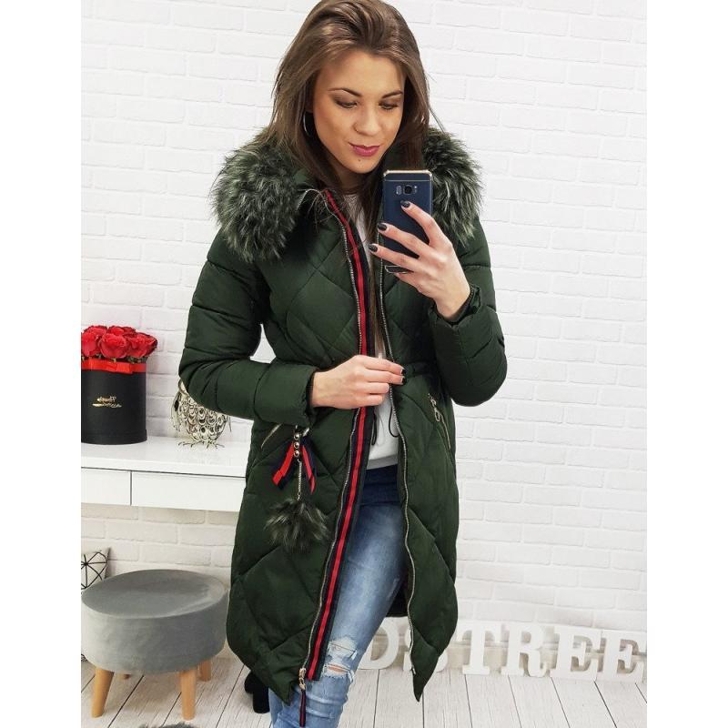 Dámska zimná bunda (ty0513) - khaki 0317c93c0fc