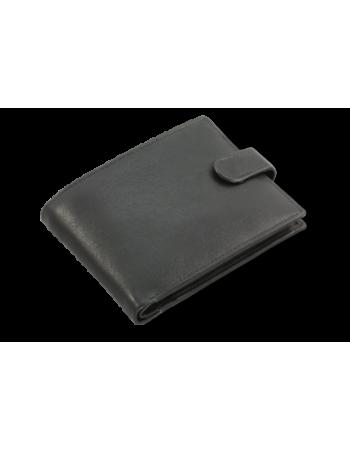 Čierna kožená peňaženka 513-2007A
