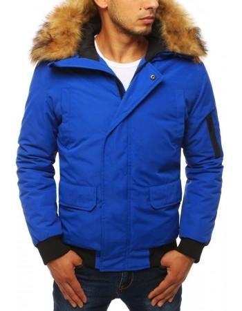 Modrá pánska zimná bunda (tx2871)
