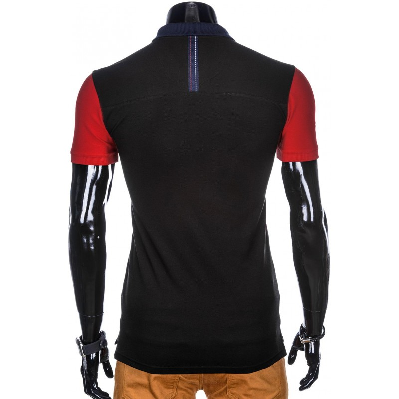 03eb435b50ee Ideálne pánske polo tričko S880 - čierne