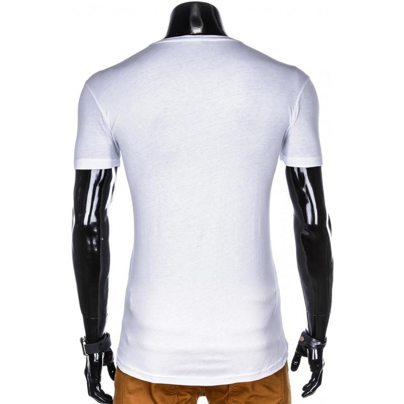bdd2187e8da3 Pekné tričko s potlačou S977 - biele