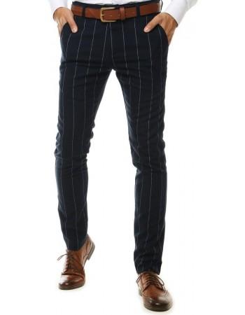 Tmavomodré pánske chino nohavice UX2565