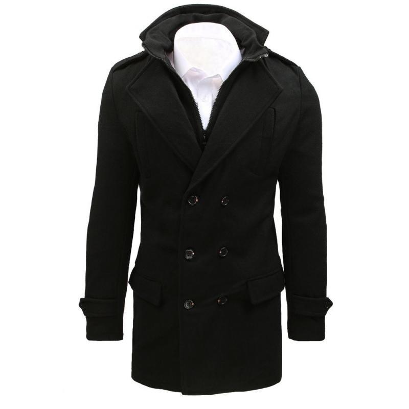 Pánsky kabát (cx0392) - čierny, veľ. XXL