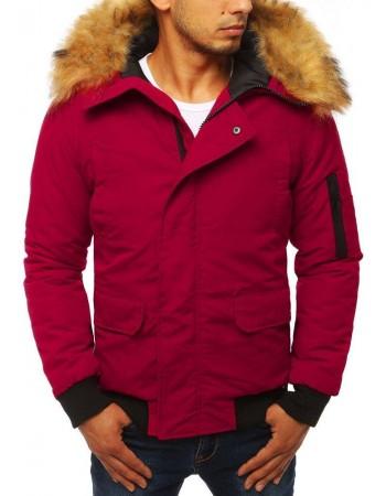 Bordová pánska zimná bunda (tx2872)