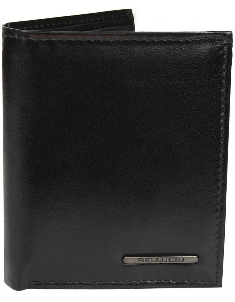 Vertikálna peňaženka Bellugio AM-21-037 v čiernej farbe
