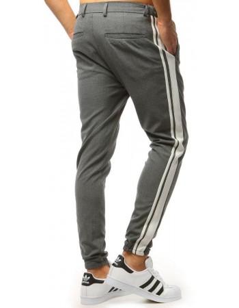 Pánské antracitové jogger kalhoty UX1476