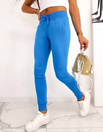 Spodnie damskie dresowe FITS niebieskie UY0585