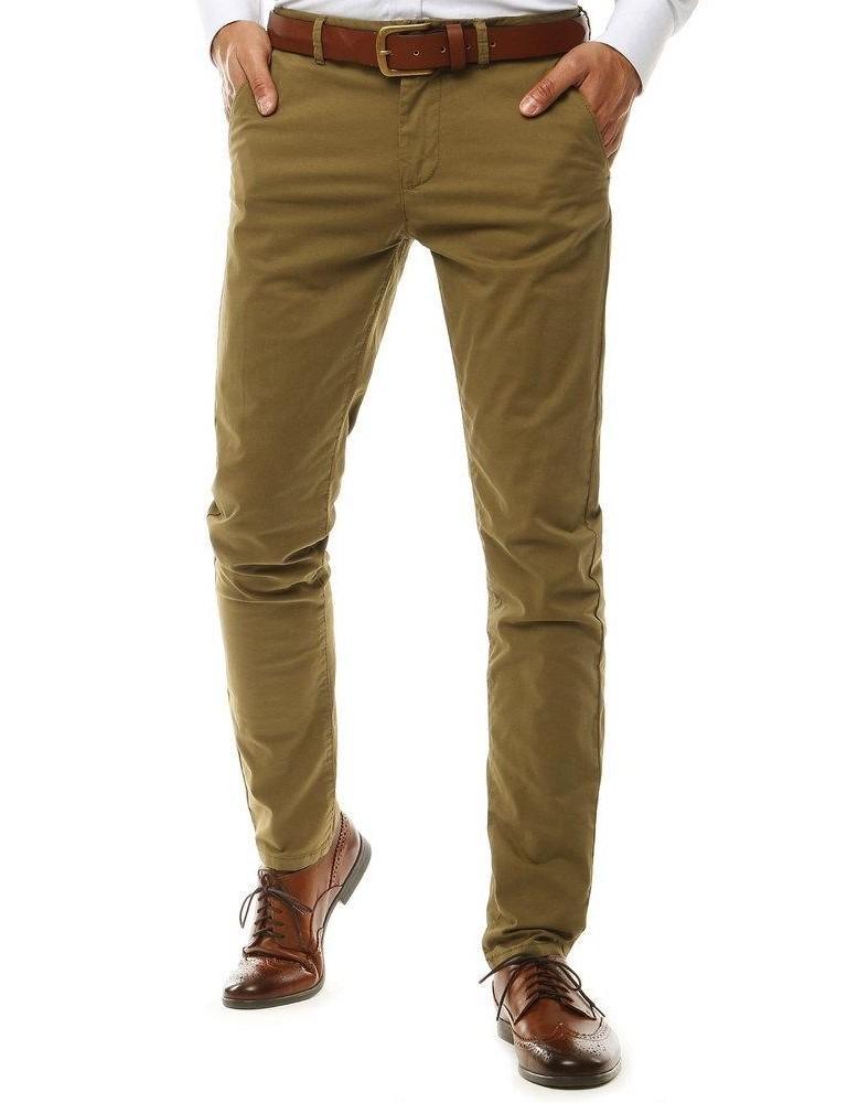 Pánske kamelové chino nohavice UX2578