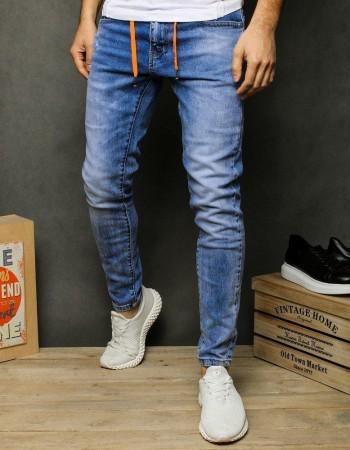 Pánske džínsy UX2481 - modré