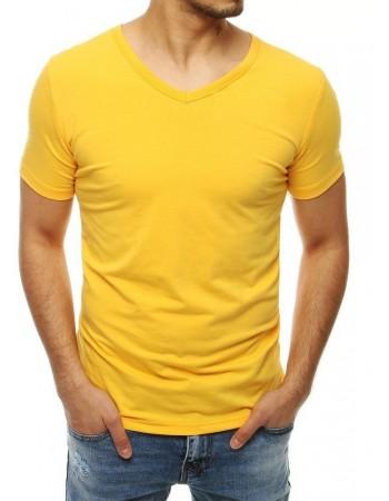 T-shirt męski żółty RX4115