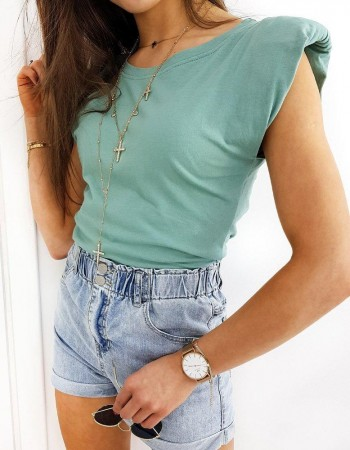 Zelené dámske tričko LAMIS RY1480