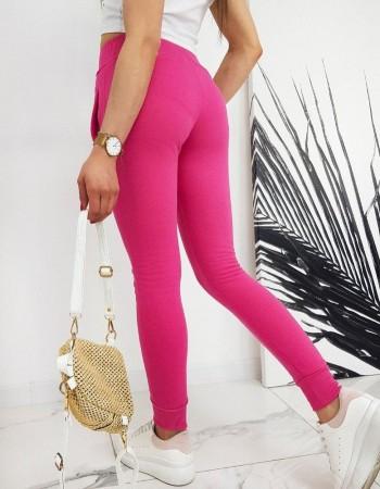 Spodnie damskie dresowe FITS różowe UY0208