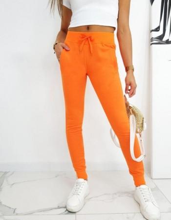 Dámske tepláky FITS UY0583 - oranžové