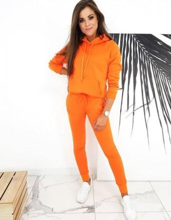 Tepláková dámska súprava DRESSLILY AY0343 - oranžová