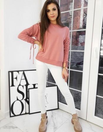 Bluza damska NANCY różowa BY0683